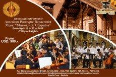 XII Festival de Música Renacentista y Barroca Misiones de Chiquitos