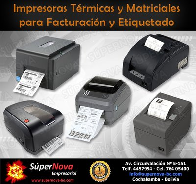 IMPRESORAS DE PUNTO DE VENTA