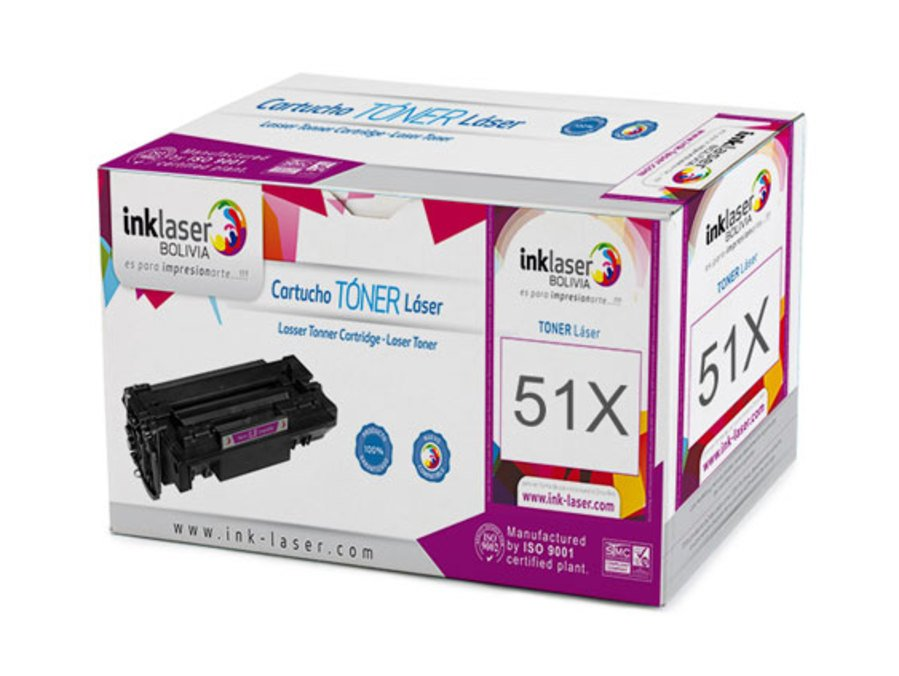 Toner Laser Compatible para HP 51X