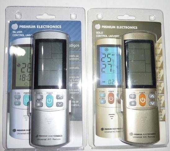 controles universales para toda marca de aire acondicionado