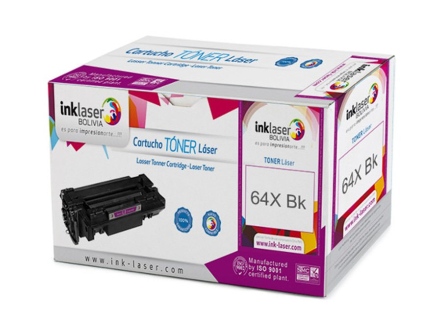 Toner Laser Compatible para HP 64X/90X