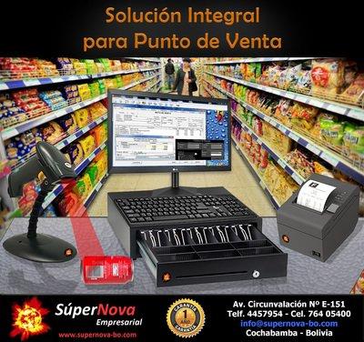 SOLUCIÓN INTEGRAL PARA PUNTO DE VENTA